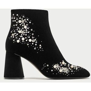 Embellished Zara Ankle Bootie